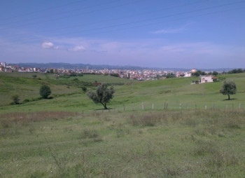 Land for sale near Ali Demi area, in Agush Gjergjevica street, in Tirana, Albania.