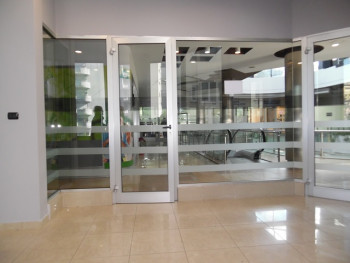 Office for rent near Blloku area, in Deshmoret e Kombit Boulevard, in Tirana, Albania.