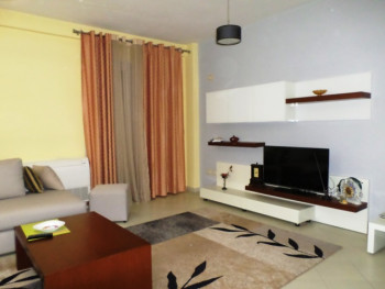 Two bedroom apartment for rent in Haxhi Hafizi Street, in Tirana, Albania.