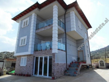 Three storey villa for rent in Xhaferr Shaba Street, very close to the TEG shopping center in Tirana