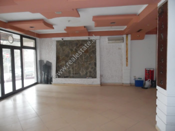 Store for rent near Sweden Embassy in Tirana, Albania. It is located on the ground floor of a three