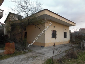 One storey villa for sale near Marie Kraja street in Tirana, Albania.