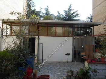 One storey villa for sale near Hasan Prishtina school in Tirana, Albania The villa offers a total s