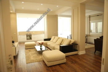 Two bedroom apartment for sale in Peti Street in Tirana. It is located on the 2nd floor of a new co