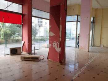 Store space for rent near Muzaket street in Tirana, Albania The store is located on the ground floo