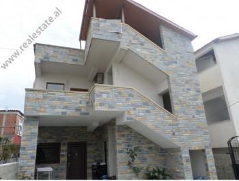 Two storey villa for sale in Don Bosko area, in Shahin Matraku street in Tirana, Albania.  The hou