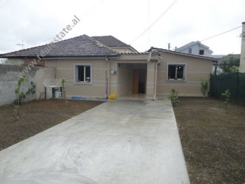 One storey villa for rent in Sauk area, in Eshref Ademaj street in Tirana, Albania.