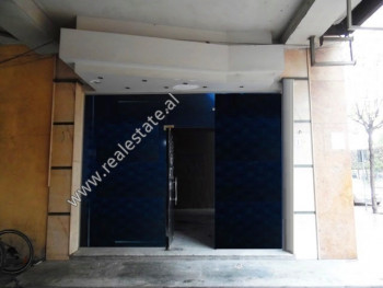 Store for rent close to the Faculty of Natural Science in Tirana. It is situated on the ground floo