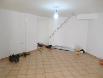 Store for rent near Dibra street, in Zenel Baboci street in Tirana, Albania. It is located on the u