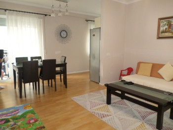 Two bedroom apartment for sale in Gener 2 complex in Tirana, Albania. It is located on the fourth f