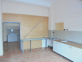 Store for rent in Androniqi Zengo Antoniu street in Tirana, Albania.