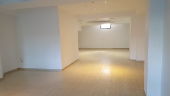 Store space for rent near U.S Embassy in Tirana, Albania.