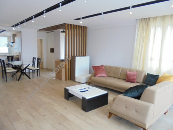 Modern duplex apartment for rent in Kodra e Diellit residence, in Tirana, Albania.