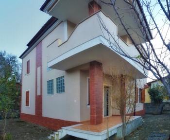 Three storey villa for sale in Krrabe village close to Tirana-Elbasan road in Tirana, Albania. It h