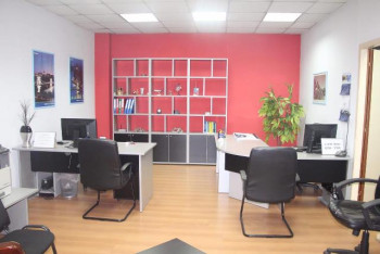 Office for rent in Abdi Toptani street in Tirana, Albania.