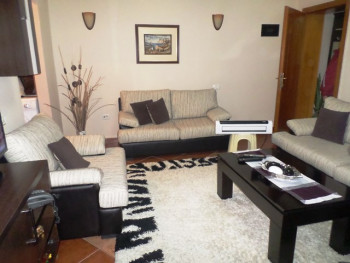 One bedroom apartment for rent in Kadri Brahimaj street in Tirana, Albania. It is located on the se