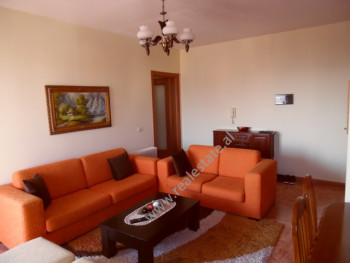 Two bedroom apartment for rent in Luigj Gurakuqi street in Tirana, Albania. It is located on the th