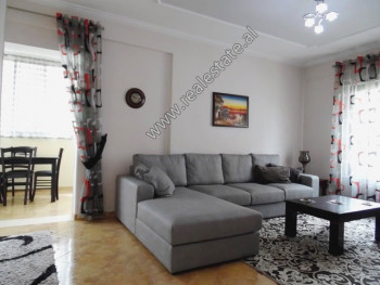Two bedroom apartment for rent in Dhimiter Shuteriqi Street in Tirana.