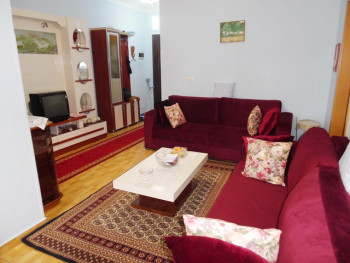 One bedroom apartment for rent in Mahmut Fortuzi street in Tirana, Albania. It is located on the se