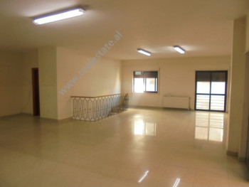 Office space for rent in Bardhok Biba street in Tirana, Albania.  It is located on the third