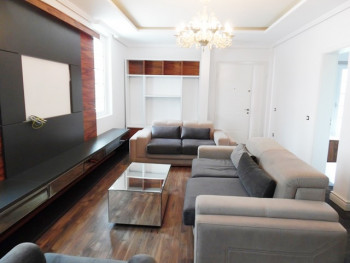 Three bedroom apartment for rent in Sauk area in Tirana, Albania.