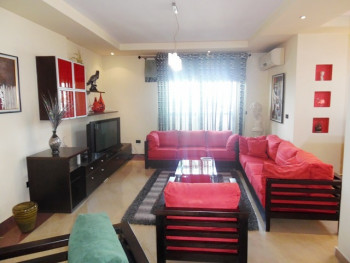 Duplex apartment for rent in Gjergj Fishta boulevard in Tirana, Albania.