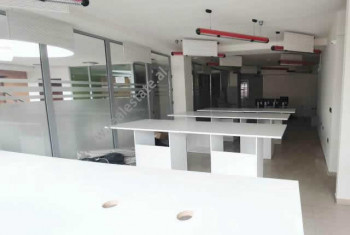 Office space for rent in Thimi Mitko street in Tirana, Albania. It is located on the 2-nd floor of