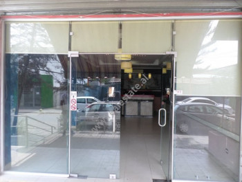 Store for sale near 5 Maj street in Hamdi Sulcebe street in Tirana, Albania.