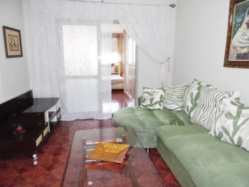 Two bedroom apartment for rent behind Qemal Stafa high school street in Tirana, Albania.