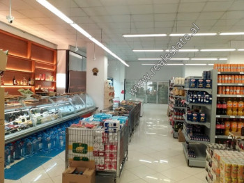 Store space for rent at the beginning of Zef Jubani Street in Tirana. It is located on the ground f