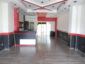 Store for rent in Nikolla Jorga street in Tirana, Albania.
