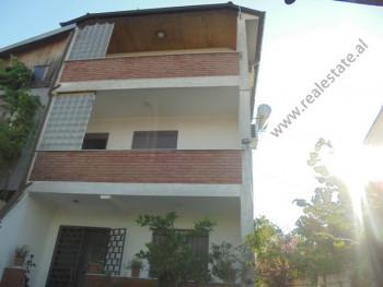 Three storey villa for sale in Vangjel Noti street in Tirana, Albania. It has a land surface of 208