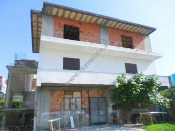 Three storey villa for sale in Vincenc Prenushi street in Tirana, Albania. It has a total land surf