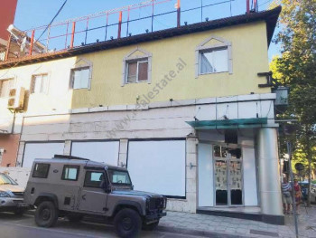 Two storey building for rent in Kavaja street in Tirana, Albania.