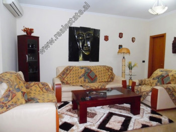 Two bedroom apartment for rent in Sami Frasheri Street in Tirana. It is situated on the 3rd floor o