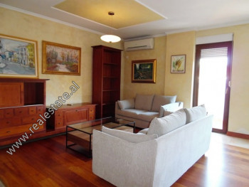 Three bedroom apartment for rent close to the Center of Tirana. It is located on the 4th floor of a