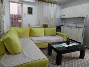 One bedroom apartment for rent close to Kosovareve street in Tirana, Albania.