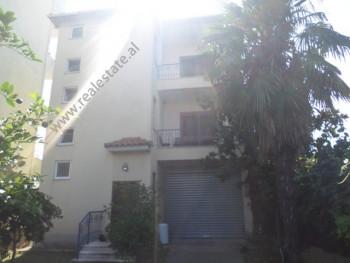 Three storey villa for sale in Tahir Kadare street in Tirana, Albania.  The villa offers a total s