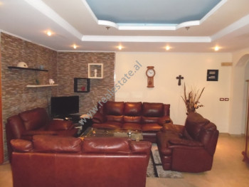 Two bedroom apartment for rent near Lapraka area in Tirana, Albania.  It is situated on the 9-th a