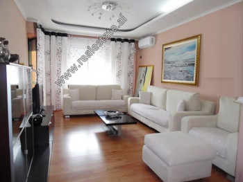 Three bedroom apartment for sale in Dritan Hoxha Street in Tirana.  It is situated on the 8th and