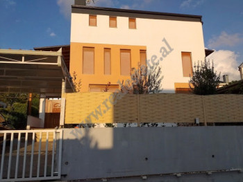Three storey villa for rent in Lunder area in Tirana.  Modern villa for rent part of a villas resi