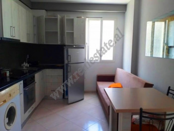 One bedroom apartment for rent in Fortuzi Street in Tirana.