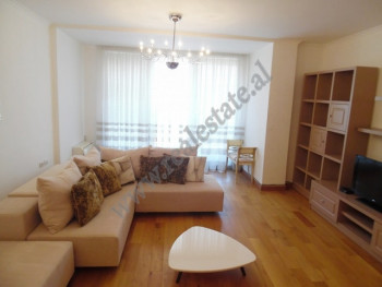 Two bedroom apartment for rent in Mustafa Matohiti street in Tirana.  It is located on the 8-th fl
