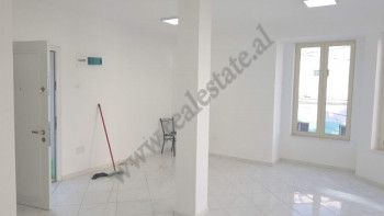 Store space for rent in Vllazen Huta street in Tirana, Albania.