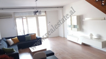 Duplex apartment for rent in Andon Zako Cajupi in Tirana, Albania.