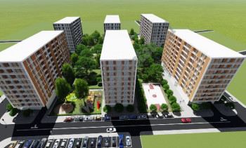 Two bedroom apartment for sale in Don Bosko Street in Tirana. It is situated on the 7th floor of a