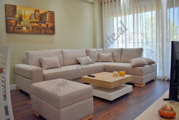 Modern two bedroom apartment for rent close to TEG shopping center in Tirana.