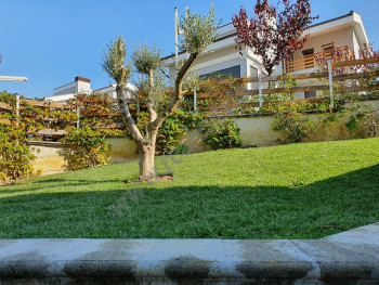 Two storey villa for rent in one of the most well-known residences in Tirana in the Lunder area.