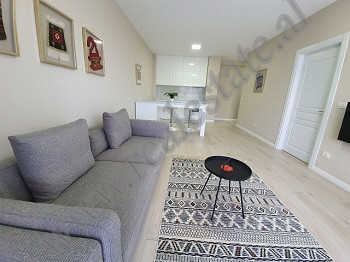 Modern one bedroom apartment for rent in a very new and modern building in Tirana.