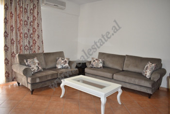 Two bedroom apartment for rent near Delijorgji complex in Tirana, Albania. It is located on the 9-t